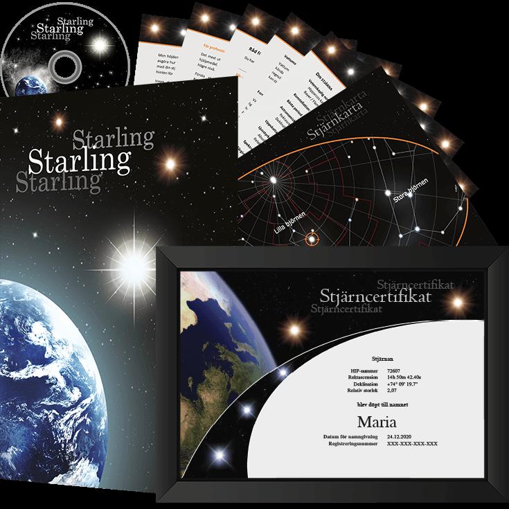 Köp en stjärna gåvopaket